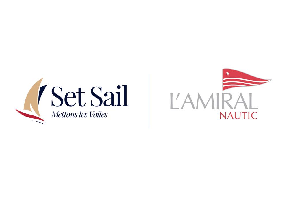 Un grand changement chez Amiral Nautic : la société et la plateforme de location de bateaux Set Sail fusionnnent.
