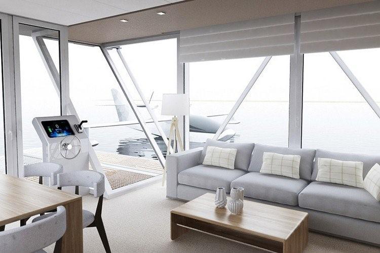 Découvrez un bateau maison écolo qui vous donnera envie de vivre en mer.
