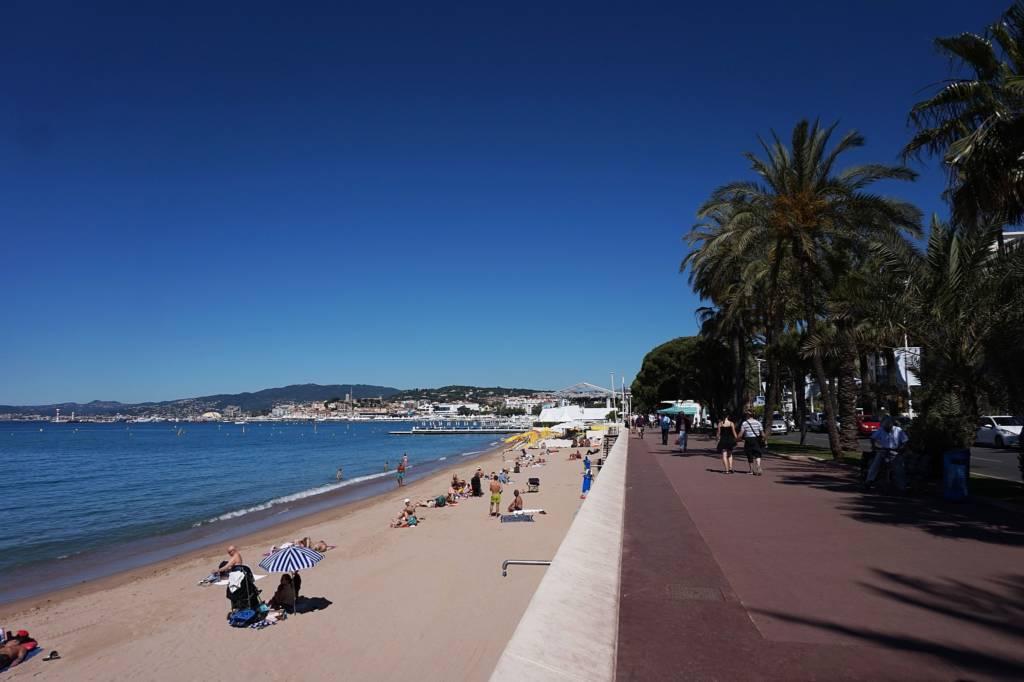 Promenade de la Croisette à Cannes