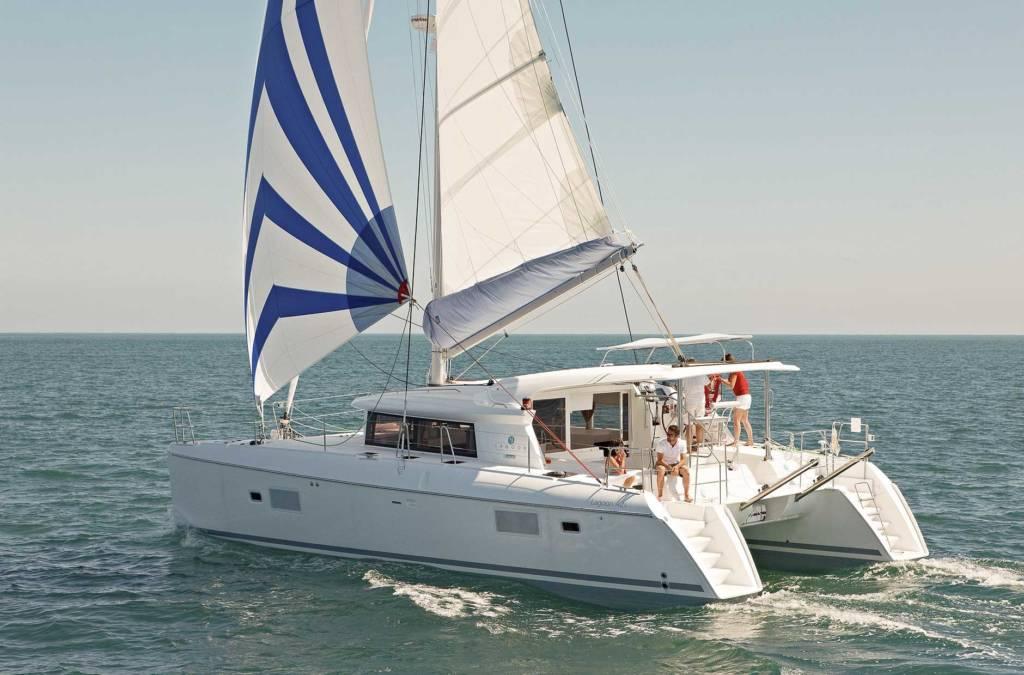 Bateau type catamaran